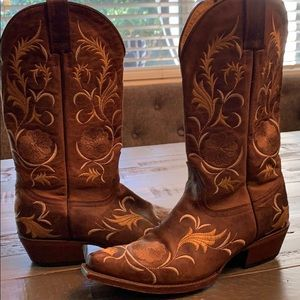 Embroidered Shyanne Ladies Western Boots